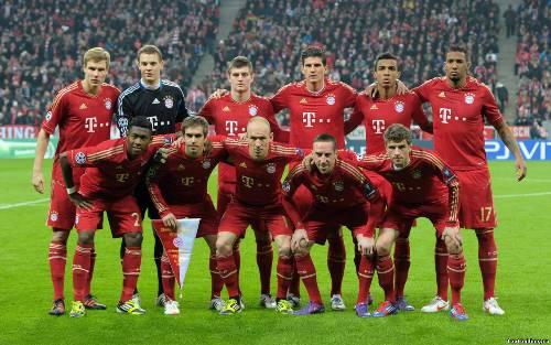 Бавария футбольный клуб игры