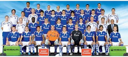 Фотографии с футбольным клубом шальке- 04